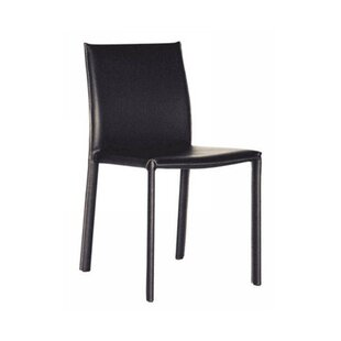 Spicer Upholstered Dining Chair (Set of 2) by Ebern Designs