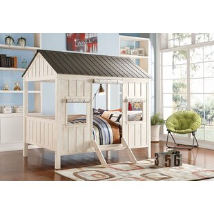 Duchene Spring Cottage Full Canopy Bed by Harriet Bee