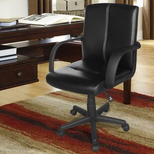 Urban Shop Leather Executive Chair