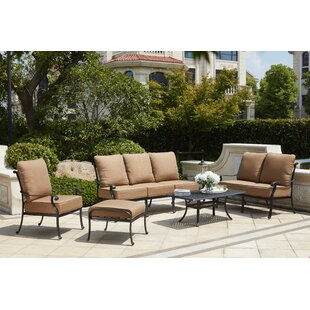 Melchior 6 Piece Sofa Set with Cushions