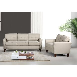 Read Reviews Boadicea Tufted Mid Century 2 Piece Living Room Set by Winston Porter Reviews (2019) & Buyer's Guide