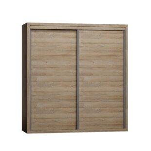 Naswith 2 Door Sliding Wardrobe By Mercury Row