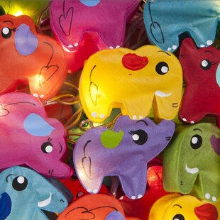Mcclintock Safari Fairy 16.40 Ft. 10-Light Novelty String Light By Zoomie Kids