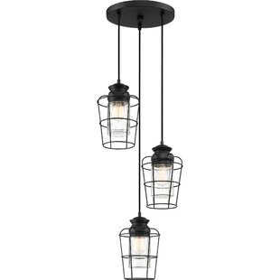 Clemens 3-Light Cluster Pendant by Williston Forge