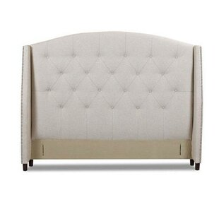 Klaussner Furniture Princeton Upholstered Wingback Headboard