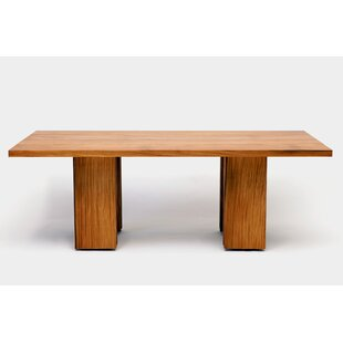 Occidental Outdoor Solid Wood Dining Table by ARTLESS