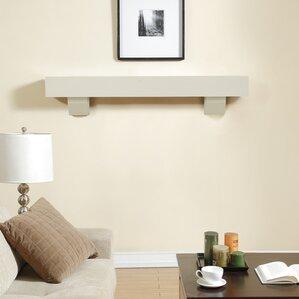 white fireplace mantel shelf. Fireplace Mantel Shelf White Mantels You ll Love  Wayfair