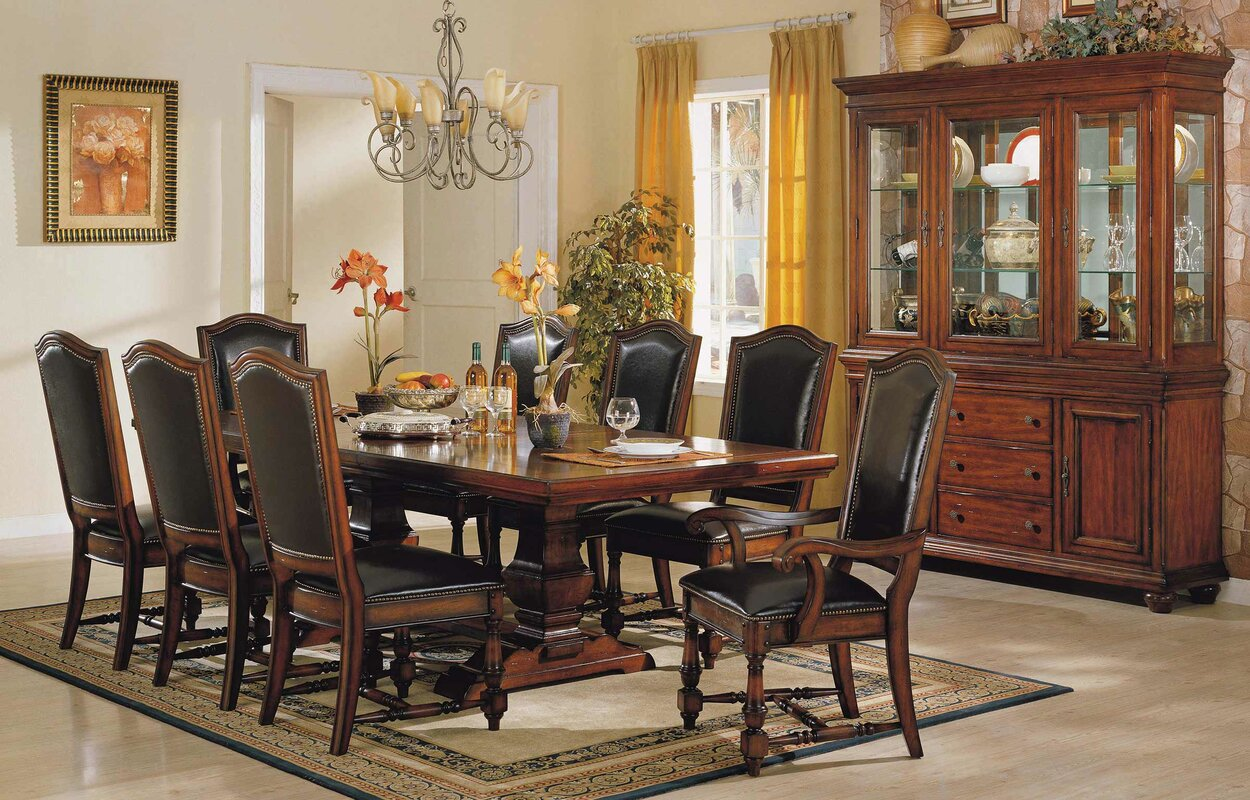 darby home co sellman 9 piece dining set reviews wayfair 9 piece kitchen dining room sets sku drbc8824 default name