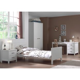 Lewis 4 Piece Bedroom Set by Vipack
