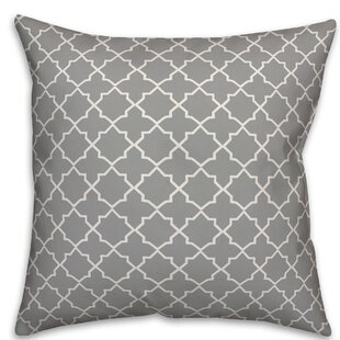 Kewaunee Quatrefoil Throw Pillow