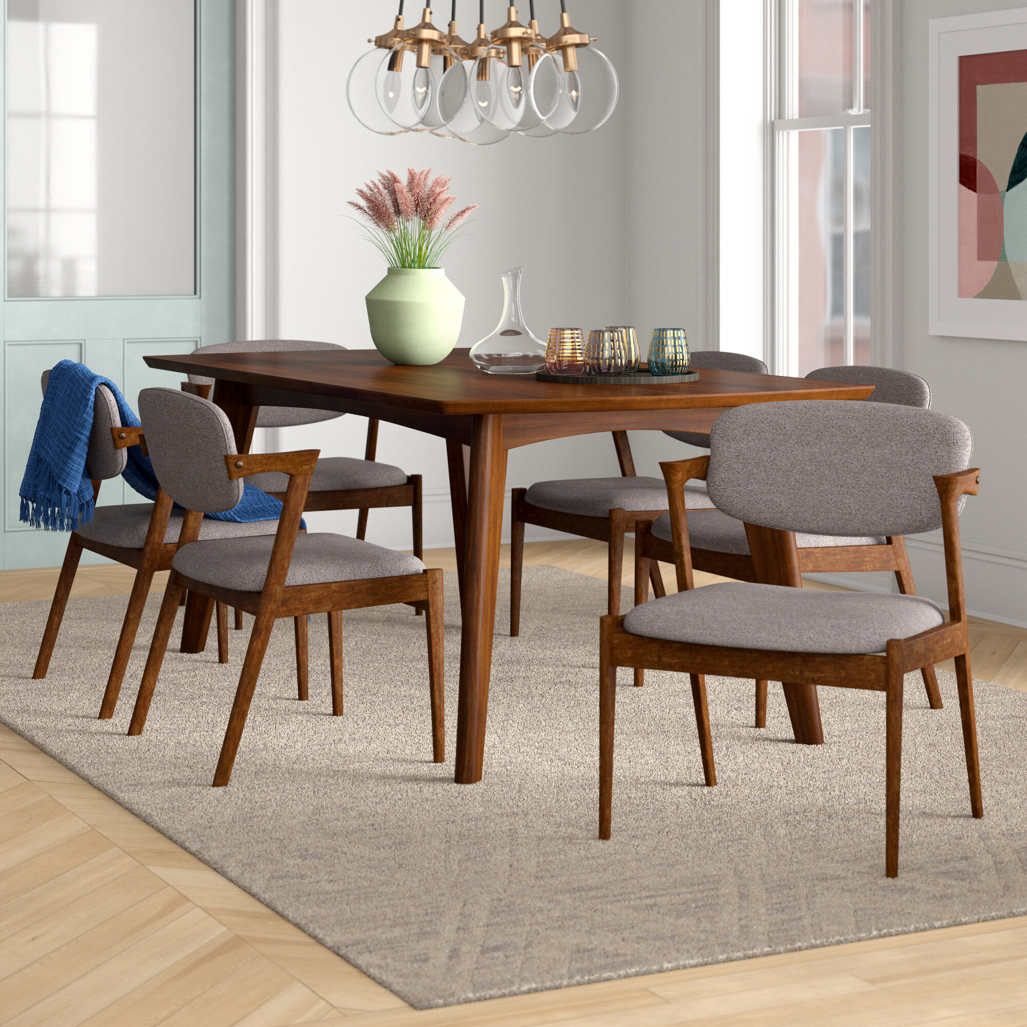 Mid Century Modern Kitchen & Dining Room Sets You'll Love in 9 ...