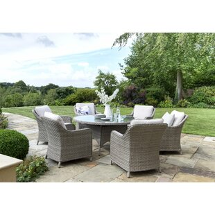 Charlbury 6 Seater Dining Set With Cushions By Kettler UK