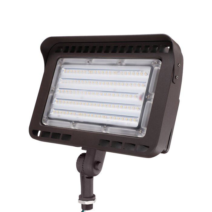 Knuckle Mount 100 Watt Led Outdoor Security Flood Light Pack Of 1