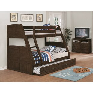 Batchelder Twin over Full Bunk Bed with Trundle by Harriet Bee