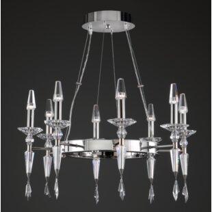 Prismatrix Lighting Metro 8-Light Chandelier