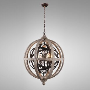One Allium Way Vincent 4-Light Chandelier