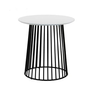 Manno Modern Side End Table by Ivy Bronx