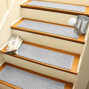 Exceptionnel White U0026 Ivory Stair Tread Rugs