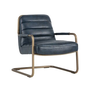 Sunpan Modern Irongate Lincoln Lounge Chair