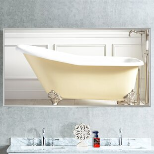 Inexpensive Panel Bathroom/Vanity Mirror By Darby Home Co