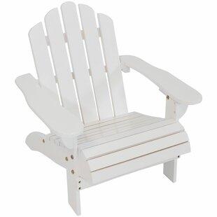 Bargain Malia Wooden Adirondack Kids Chair ByMillwood Pines