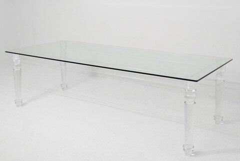 Acrylic Lucite Dining Table Wayfair