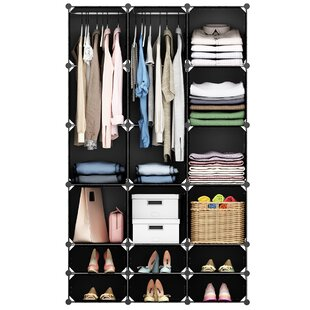 Great choice Flint 9 W 18-Cube Curly Closet System By Rebrilliant