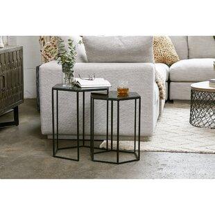 Modern 2 Piece Set Coffee Table Sets Allmodern