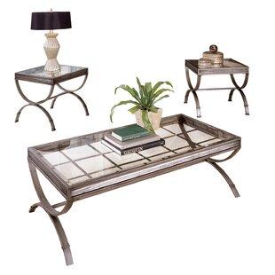 Arrellano 3 Piece Coffee Table Set  sc 1 st  Joss u0026 Main & Coffee Table Sets | Joss u0026 Main