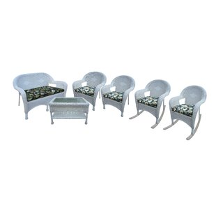 6 Piece Sunbrella Sofa Set with Cushions by Oakland Living