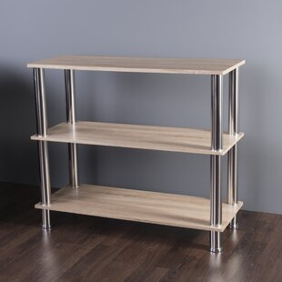 Latitude Run Adelinna 3 Tier Etagere Bookcase