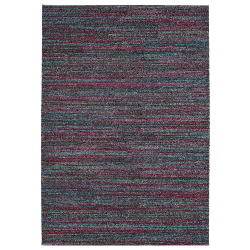 Mcmurry Striped Purple Area Rug