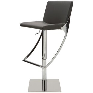 Adjustable Height Swivel Bar Stool by Nuevo Today Only Sale