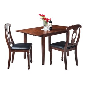 Assante Modern 3 Piece Wood Dining Set by Alcott..