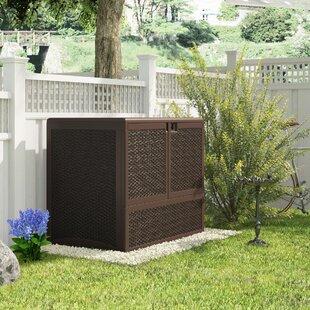 Quackenbush Resin Wicker Storage Box By Sol 72 Outdoor