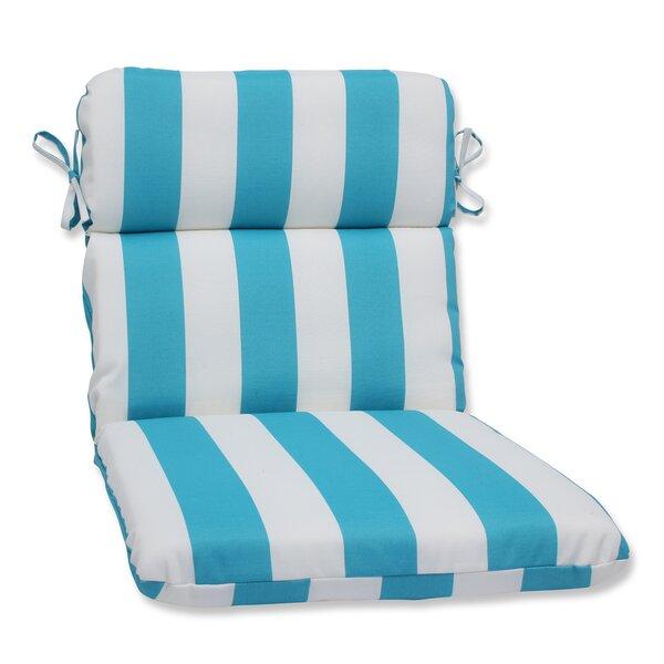 Pillow Perfect Cabana Stripe Indoor/Outdoor Lounge Chair Cushion   Wayfair