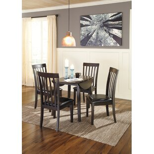 Milton 5 Piece Drop Leaf Dining Set Andover Mills