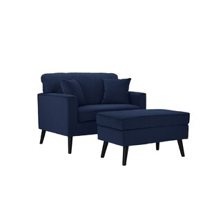 Look for Pogue Chair and a Half with Ottoman by Latitude Run Reviews (2019) & Buyer's Guide
