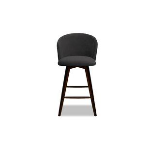 Lynda 26 Swivel Bar Stool Ivy Bronx