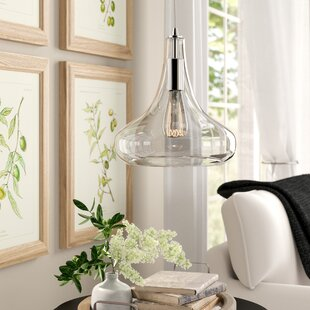 Birch Lane? Heritage Lourenco 1-Light Teardrop Pendant