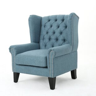Osvaldo Wingback Chair by Alcott Hill