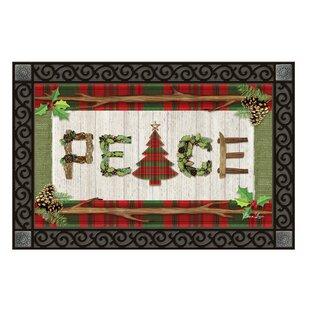 Superieur Rustic Christmas Doormat