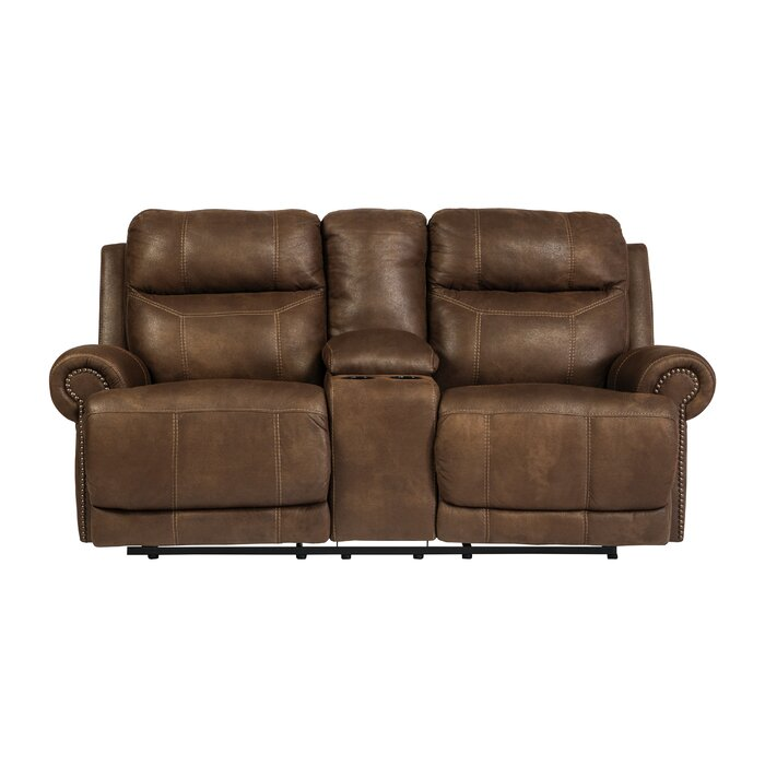 Peachy Culver Double Console Reclining Loveseat Pabps2019 Chair Design Images Pabps2019Com