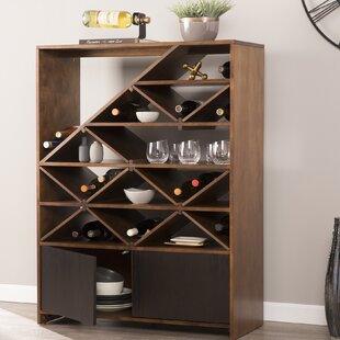 Wrought Studio Huddle Bar Cabinet