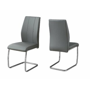 Wade Logan Mixon Upholstered Dining Chair (Set of 2)
