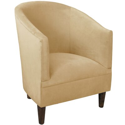 Diana Barrel Chair Upholstery: Velvet Buckwheat