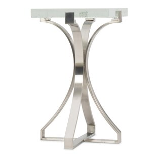 Bubble Glass End Table