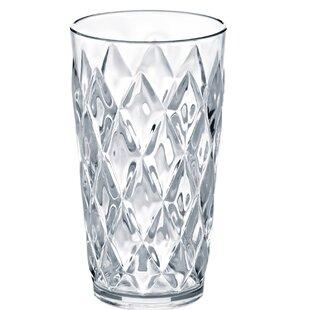 Crystal 450ml Plastic Drinking Glass By Koziol