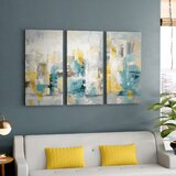 City Views I - Wrapped Canvas Multi-Piece Image Print