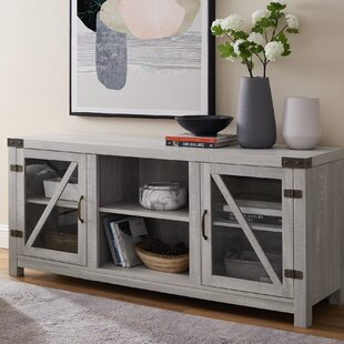 Price comparison Siciliano TV Stand for TVs up to 60 by Gracie Oaks Reviews (2019) & Buyer's Guide